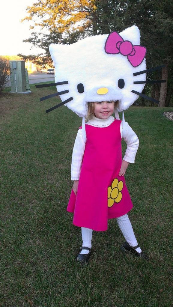 Новогодние костюмы для девочек своими руками: костюм Китти, костюм Пчелка Майя, костюм Пони