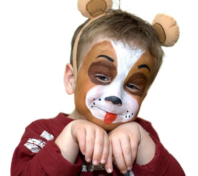 Аквагрим для детей: фото, идеи и инструкции