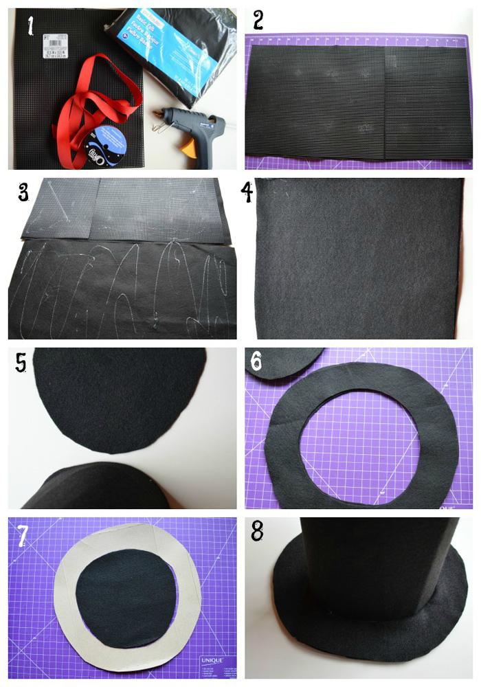 Как сделать шляпу фокусника своими руками фото 853