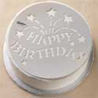 Трафареты для тортов. Как украсить торт самостоятельно, используя трафареты для тортов?
