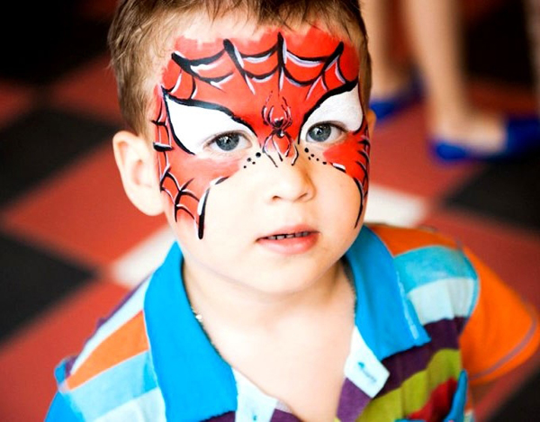 Рисунки на лице для детей и взрослых: идеи и фото