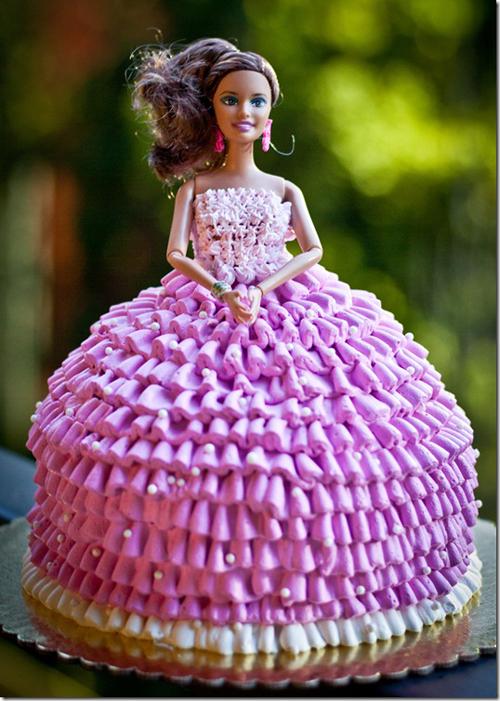 торт кукла для девочки своими руками рецепт с фото