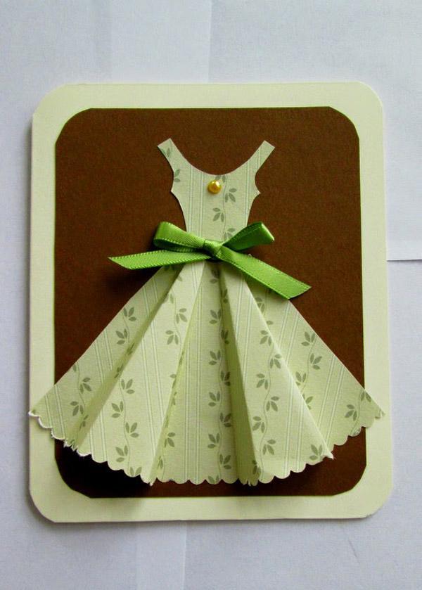 открытка к 8 марта платье шляпа