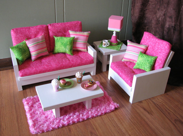 Кресло для куклы. Как сделать кресло для куклы своими руками?