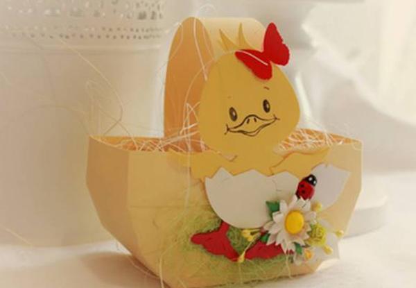 Корзинка для пасхальных яиц. Как сделать корзинку для пасхальных яиц своими руками?