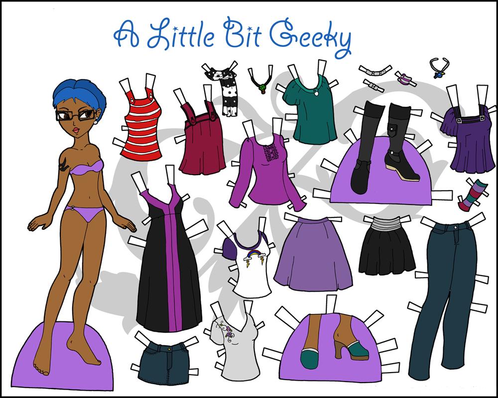 Куклы из бумаги с одеждой для вырезания: большая коллекция одежды из бумаги для кукол
