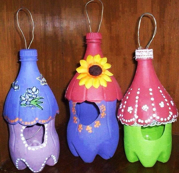 Поделки из пластиковых бутылок своими руками: для сада и огорода, дома и дачи