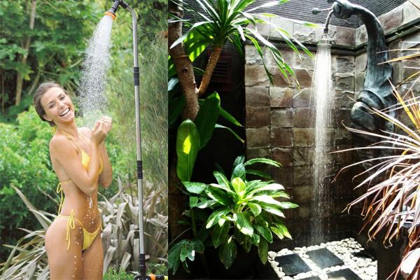 Летний душ своими руками:  20 оригинальных идей летнего душа