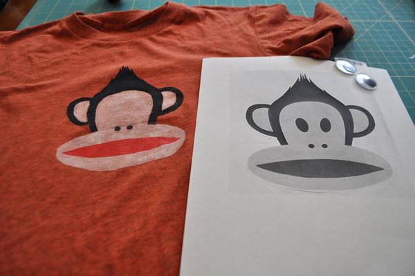 Трафарет обезьяны. Трафареты обезьяны для вырезания и декорирования