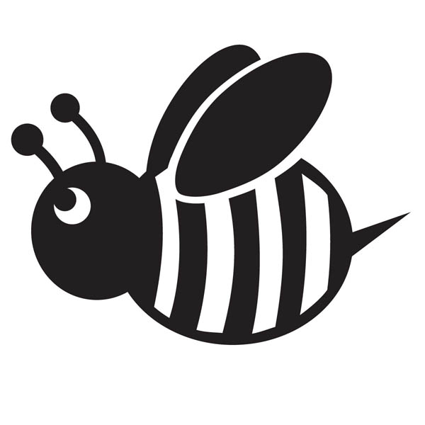 Трафареты пчелок: трафареты пчел для вырезания, на стену, окно, как способ декорирования