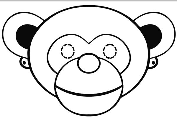 Маска Обезьяны: как сделать маску обезьяны своими руками?