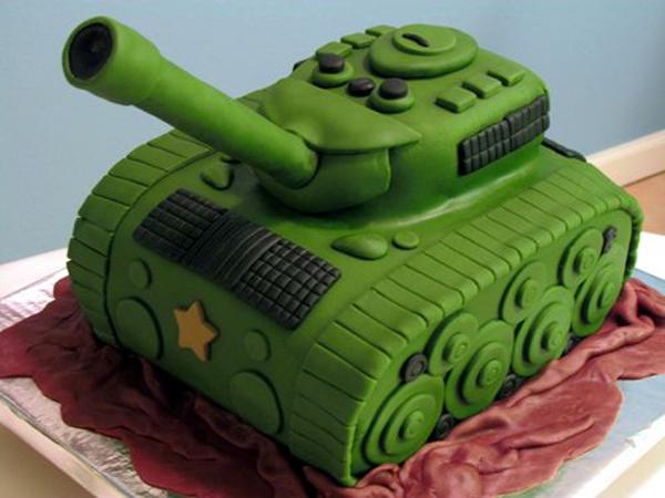 торт в виде танка пошагово рецепт с фото
