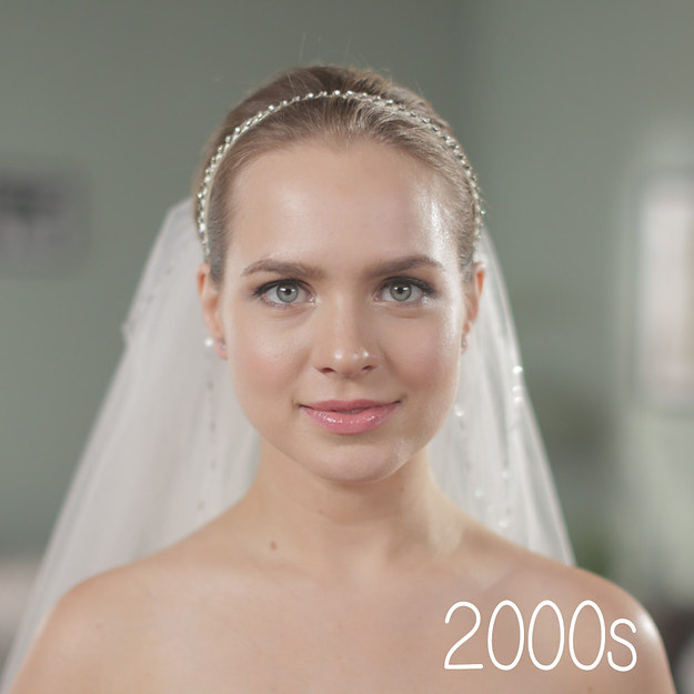 Свадебные прически в стиле: 60-х, 70-х, 80-х, 90-х годов