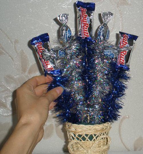 Новогодние букеты: новогодние букеты своими руками