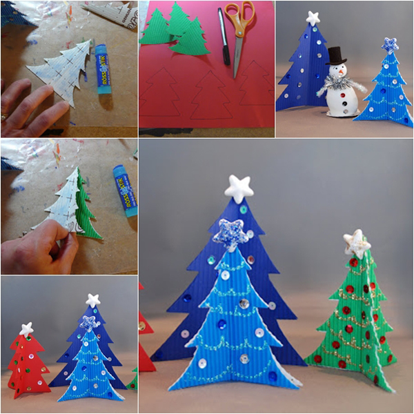 Елка из бумаги. Новогодняя елка из бумаги своими руками