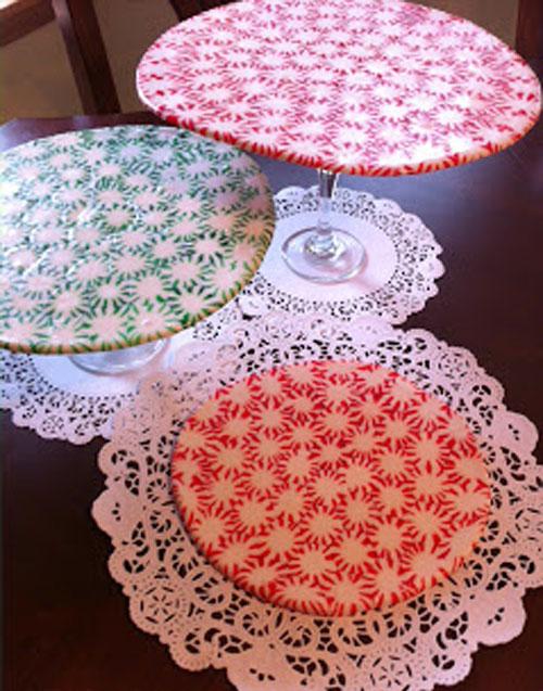 Карамельки. Подносы и тарелки из карамелек своими руками