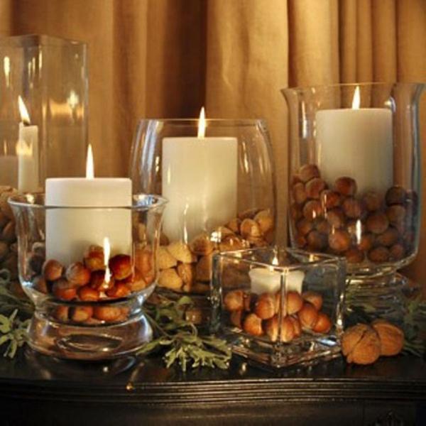 Свечи на Новый год. Новогодние свечи, как украшение интерьера