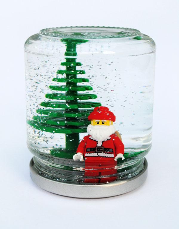 Лего Новый год: как сделать из Лего новогодние поделки