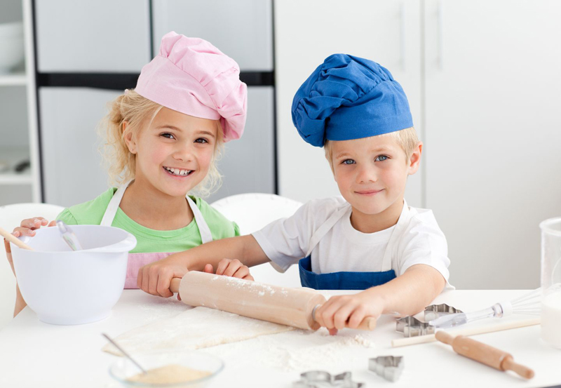 Мастер класс чем занять ребенка на кухне