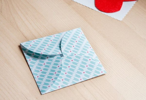 Как сделать конверт на День Святого Валентина: шаблоны конвертов, идеи и мастер классы