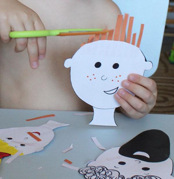 Игра Парикмахерская. Детская развивающая игра для детей – Парикмахер