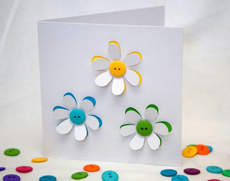 Для открытки, открытки с детьми своими руками к дню рождения
