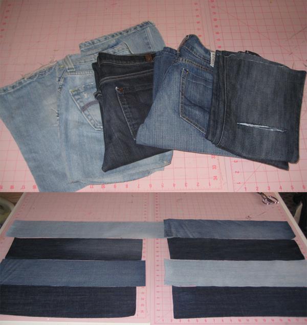 Сумки из джинсов. Из старых джинсов своими руками
