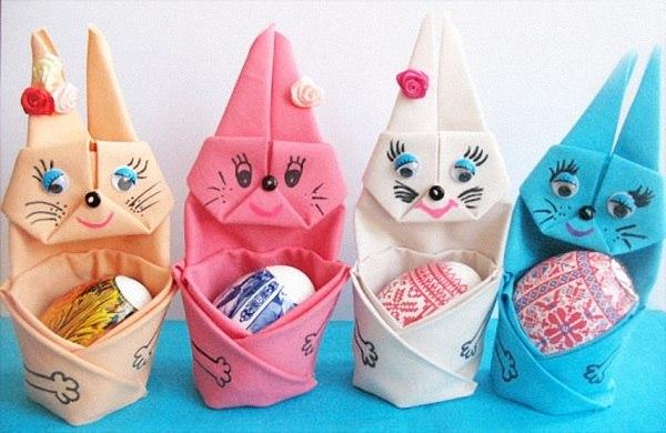 Пасхальные корзинки: пасхальные корзинки своими руками