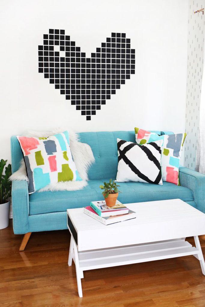 Декоративные подушки своими руками: диванные подушки с рисунками