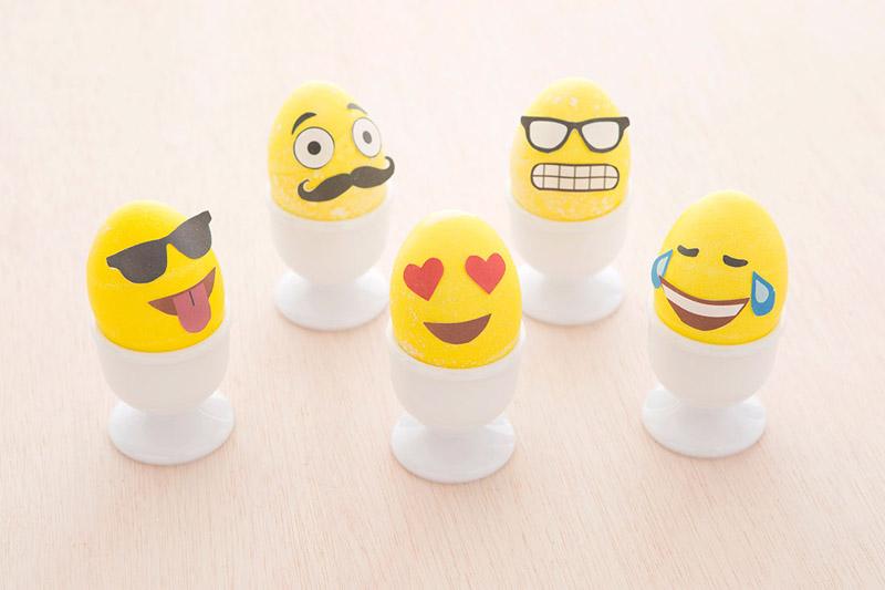 Пасхальные яйца. Пасхальные яйца смайлики