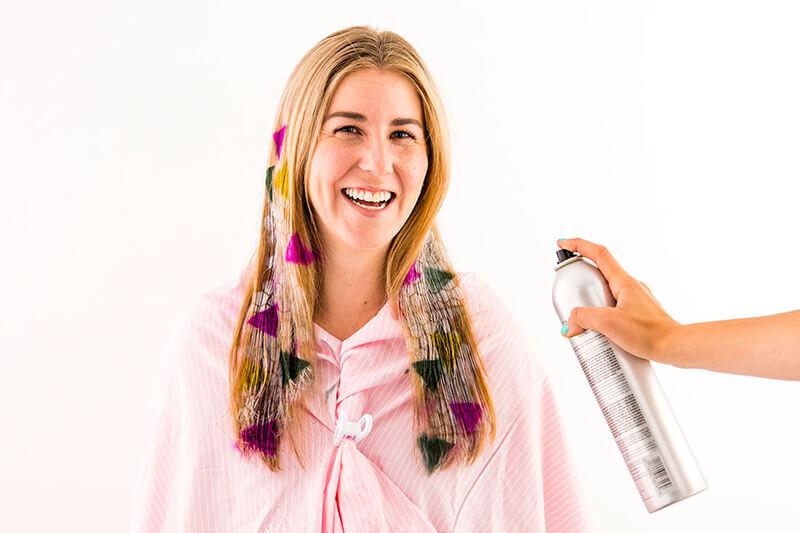 Трафаретное окрашивание волос: трафареты для волос модное решение