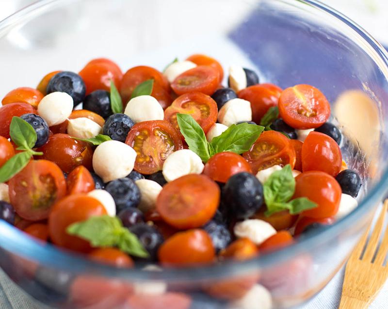 Салат Капрезе: салат Капрезе рецепт, фото
