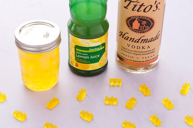 Желатиновые мишки: желатиновые мишки с алкоголем