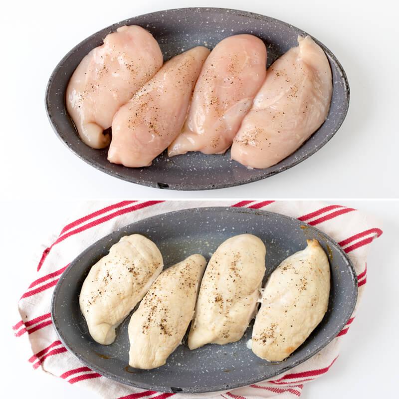 Тушеная куриная грудка рецепт