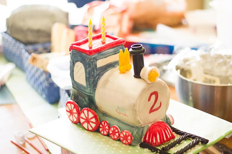Торт для железнодорожника: торт в виде поезда своими руками
