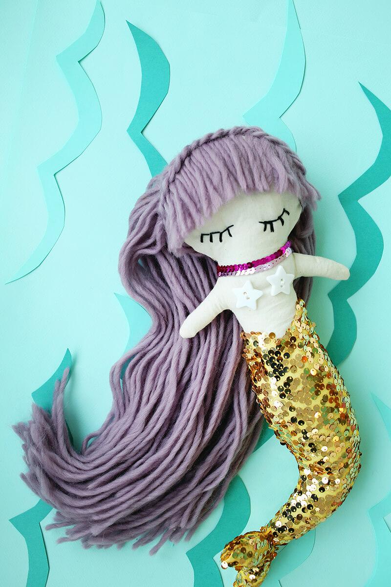 Кукла русалочка: игрушка Русалочка Ариэль своими руками