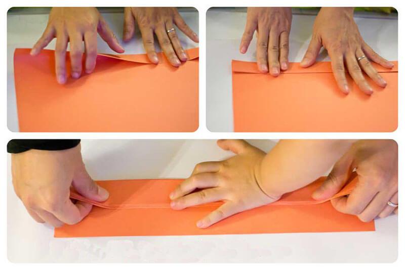 Тыква из бумаги своими руками