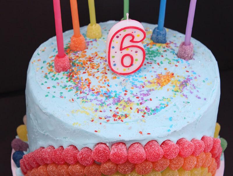 Фото день рождения 6 лет