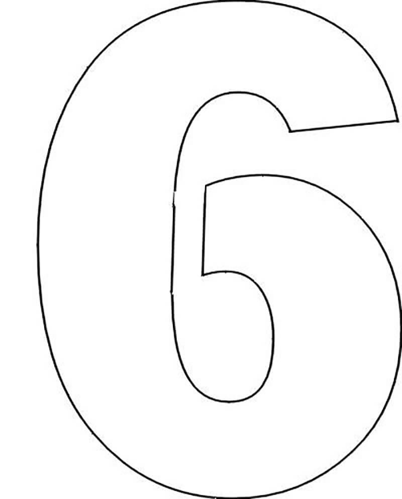 elegant numbers template - 800×992