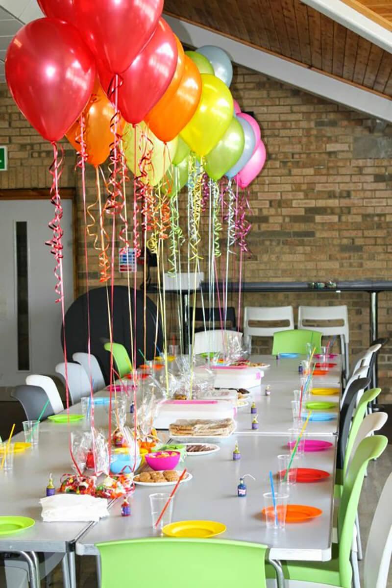 Оформление стола детского дня рождения своими руками фото 689