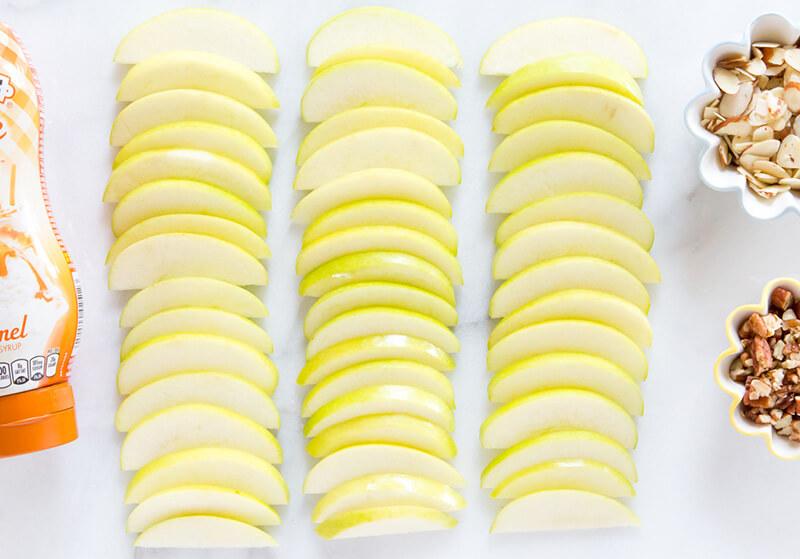 Нарезка яблок: красивая нарезка яблок на праздничный стол