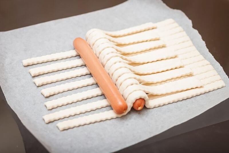 Как приготовить сосиски необычно и оригинально: фото, идеи и мастер классы