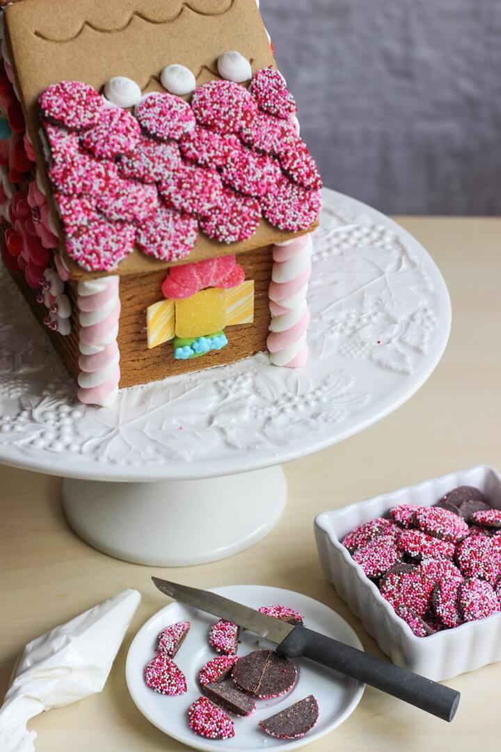 Пряничный домик: как украсить пряничный домик своими руками