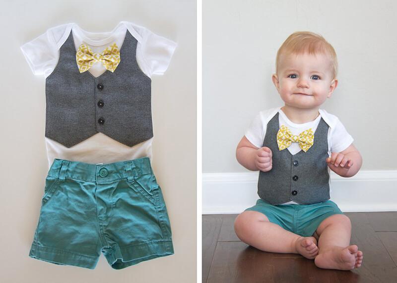 Костюм на мальчика 1 год своими руками. Как одеть ребенка на День Рождения?