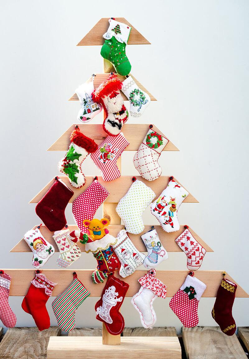 Новогодняя елка своими руками: мастер класс, фото