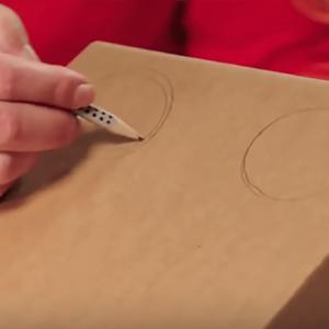 Коробка Петух: как сделать петуха из картонной коробки?