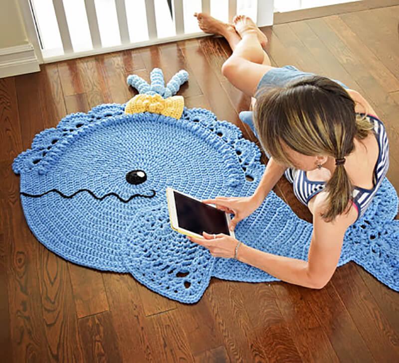 Детский коврик своими руками: фото, идеи