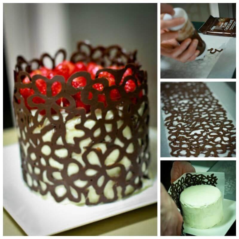 Оригинальные украшения для торта фото