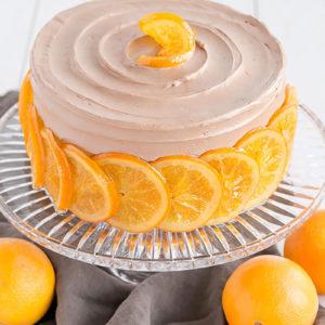 Украшение торта апельсинами. Как украсить торт апельсинами?