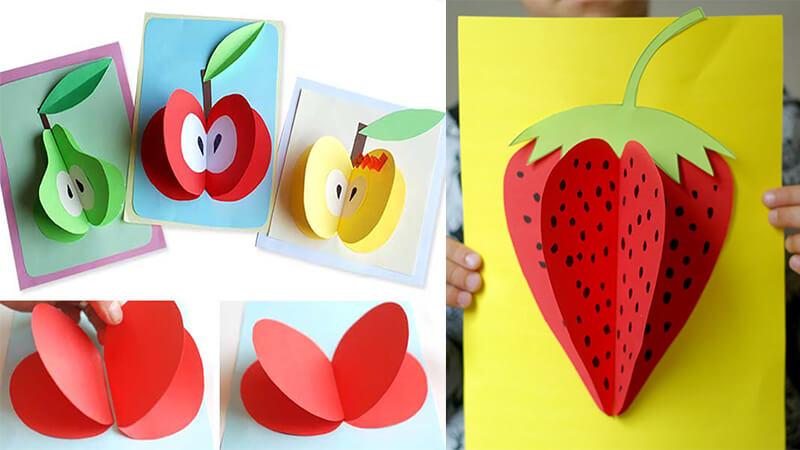 открытка ягодка своими руками